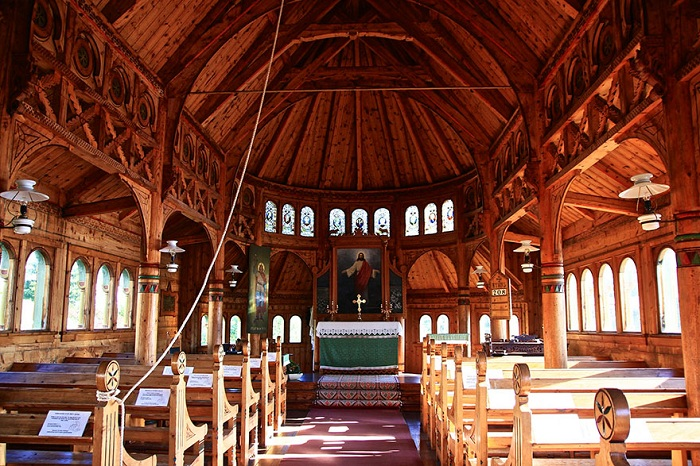 Церковь в Норвегии St. Olaf's Church.