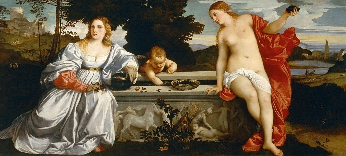 Любовь небесная и Любовь земная. Тициан, ок. 1514 г. | Фото: ru.wikipedia.org.