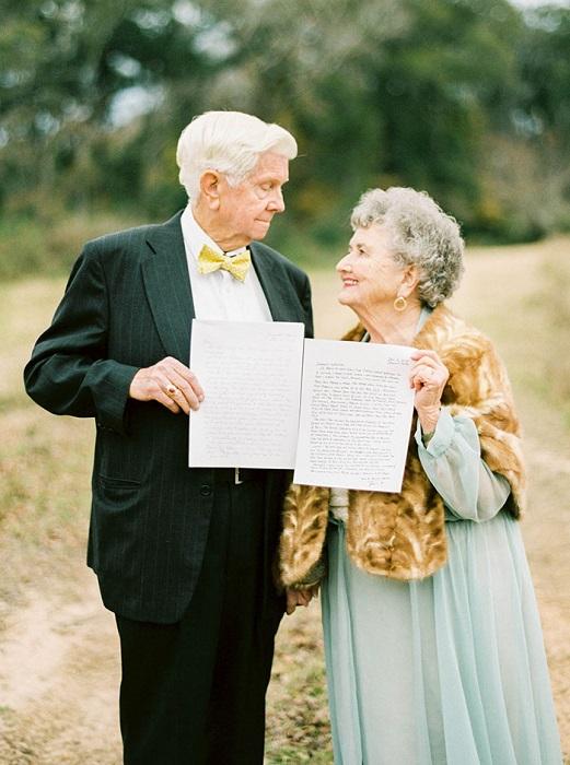 Письма с признаниями в любви.