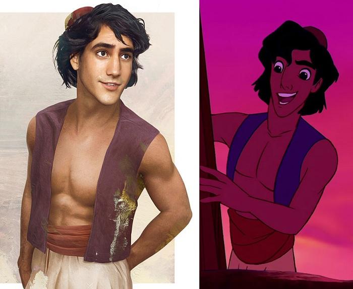 Если бы персонаж Аладдина был реальным.
