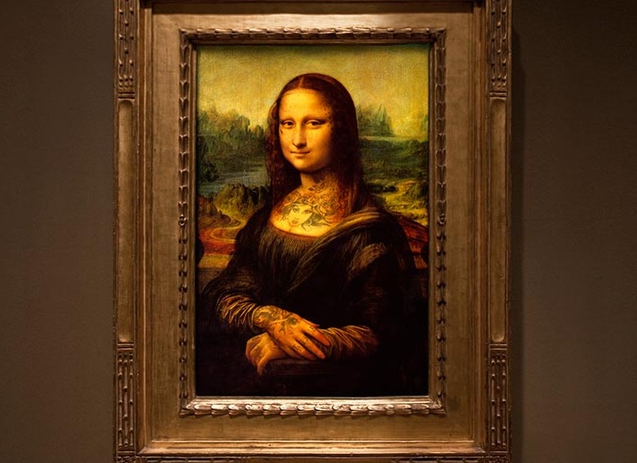 Мона Лиза, Леонардо да Винчи, примерно 1503-1505 гг.
