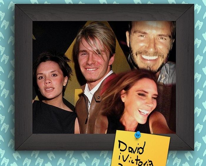 Victoria Beckham и David Beckham - звездная пара.