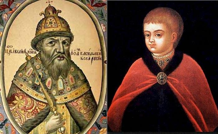 Первый царь всея Руси Иван IV Грозный.