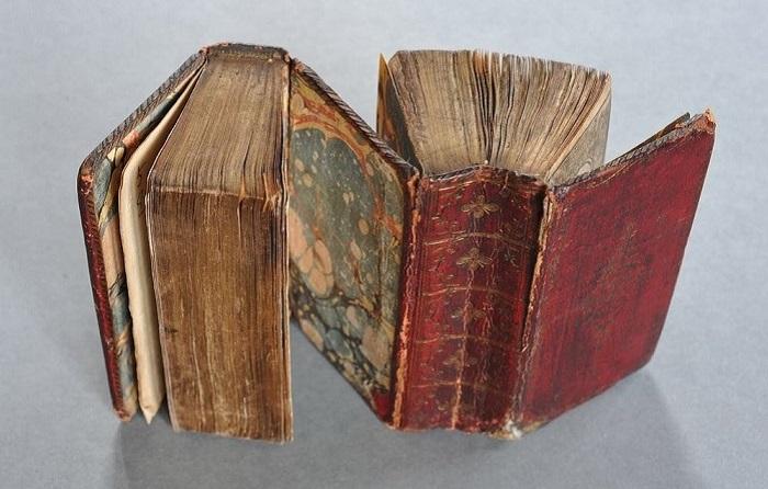 Старинная книга «дозадо». | Фото: amusingplanet.com.