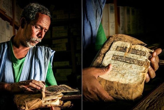 В Шингетти находятся древние исламские манускрипты.
