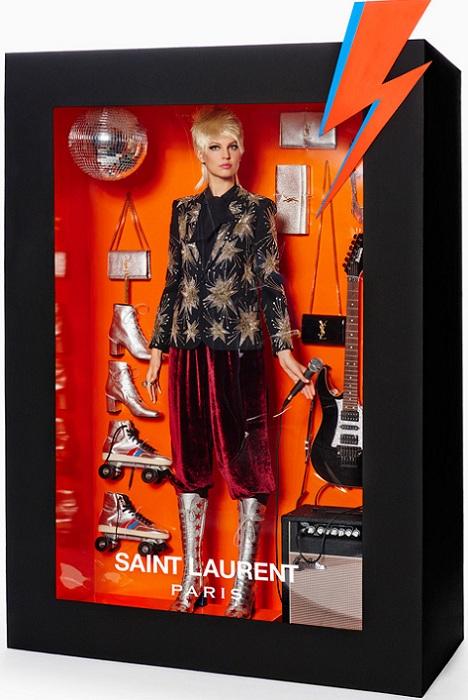 Барби от Saint Laurent.