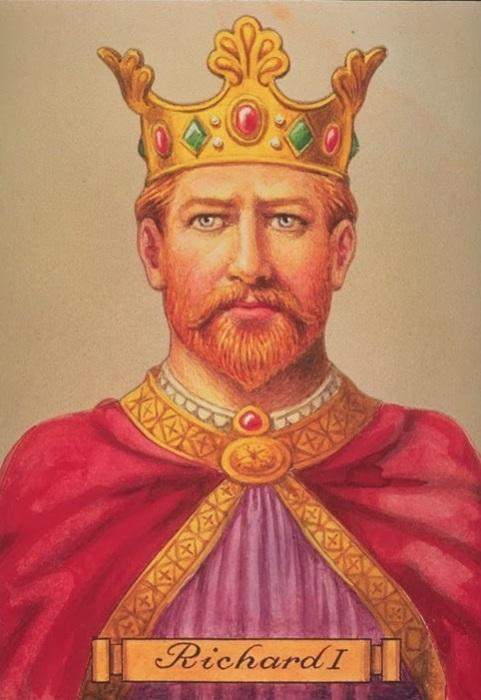 Английский король Ричард I Львиное Сердце. | Фото: 3.bp.blogspot.com.
