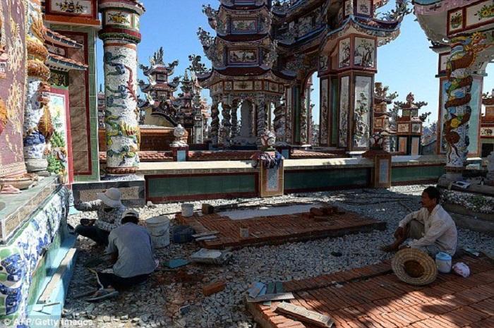 Необычное кладбище.   Фото: todaytv.vn.
