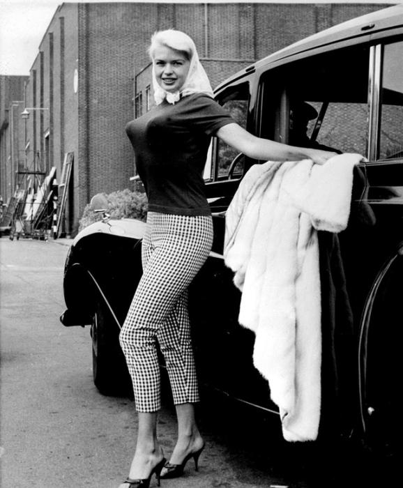 Актриса Джейн Мэнсфилд. | Фото: vintag.es.