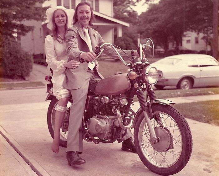 1975. Начало долгой семейной жизни.
