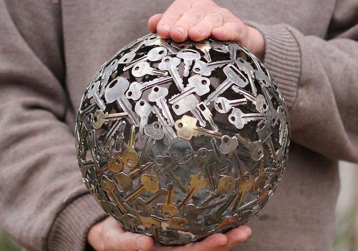 Сфера, выполненная автором Moerkey.