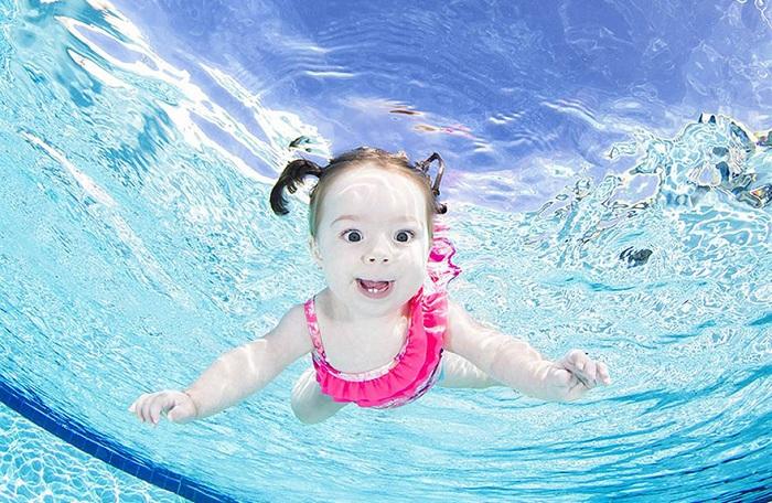 Фотопроект Underwater Babies.