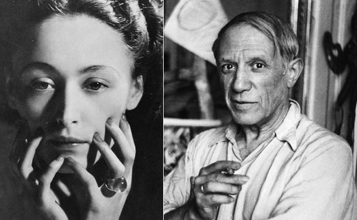 Пабло Пикассо и Дора Маар.