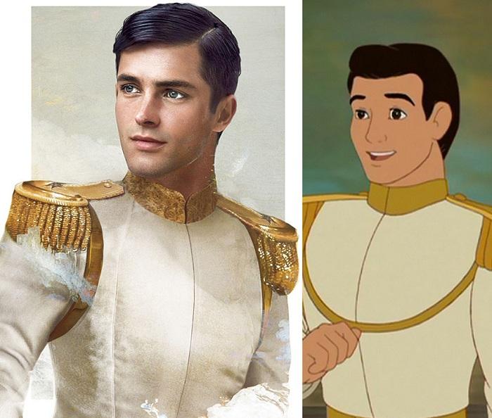 Как бы выглядел принц Charming, будь он реальным персонажем.
