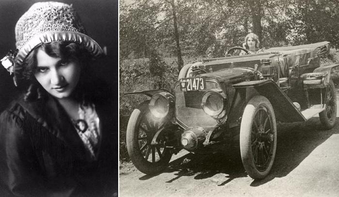 Флоренс Лоуренс - первая кинозвезда и изобретательница.