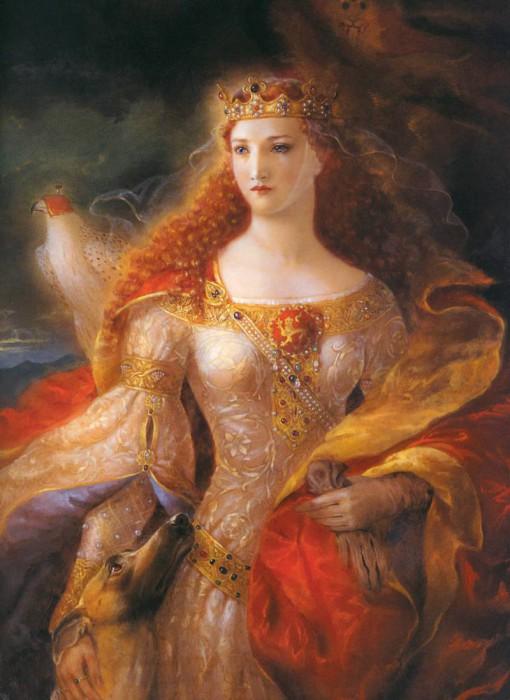 Алиенора Аквитанская - мать короля Ричарда Львиное Сердце. | Фото: zvez-dec.ru.