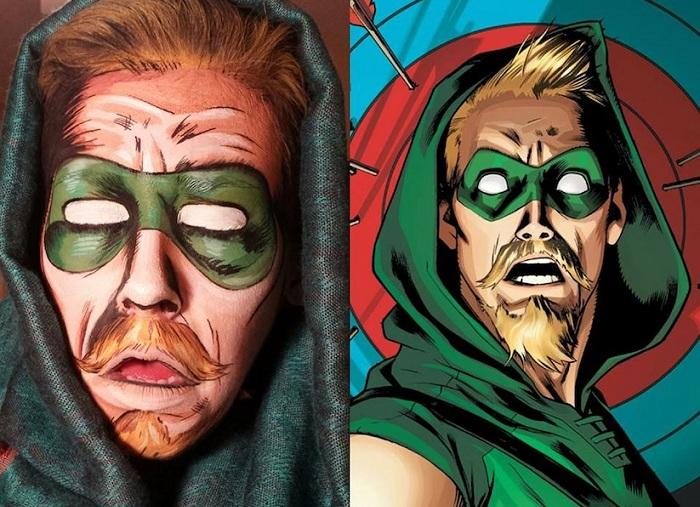 Персонаж комиксов - Зеленая стрела.