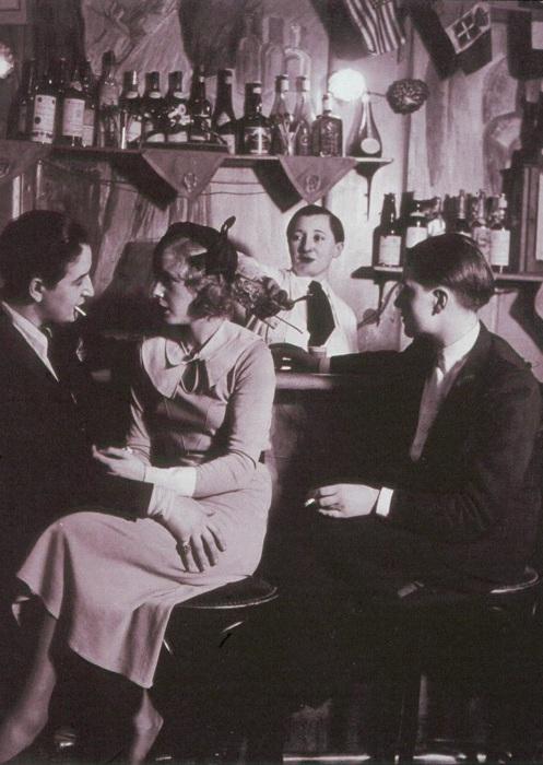 Ночной клуб «Монокль». Середина 1930-х гг.