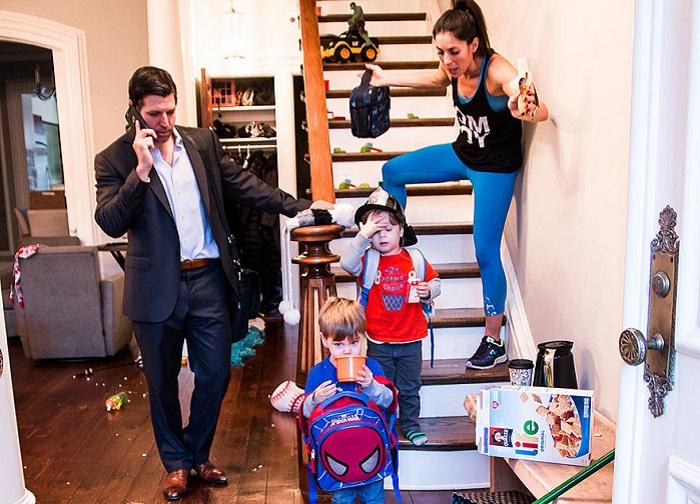 «Лучший сценарий» - реальные сцены из семейной жизни.