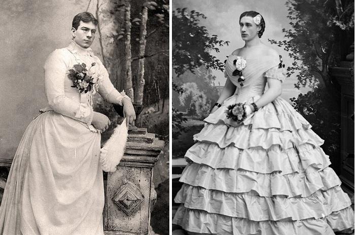 Пощечина общественному вкусу»: мужчины, переодевавшиеся в женское платье в викторианскую эпоху. Обсуждение на LiveInternet - Российский Сервис Онлайн-Дневников