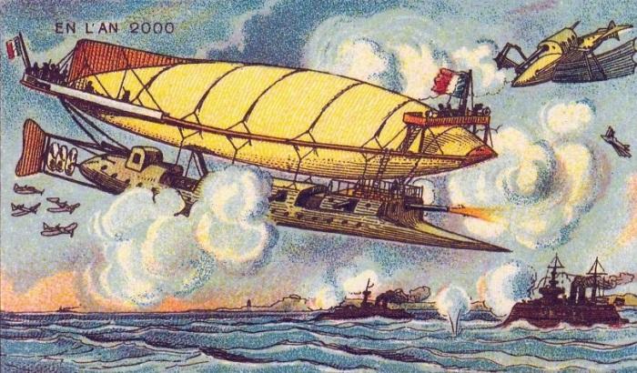 Летающие корабли. | Фото: boredpanda.com.
