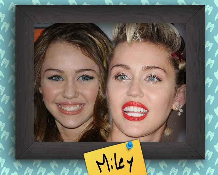 Miley Cyrus - скандальная американская певица.