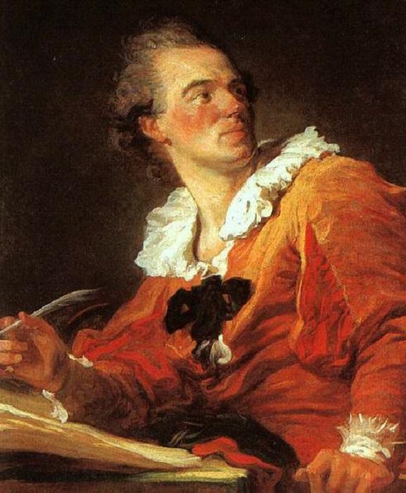 Вдохновение. Автопортрет. Ж.-О. Фрагонар, 1769 год. | Фото: uk.wikipedia.org.