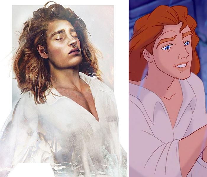Как бы выглядел принц Adam, будь он реальным персонажем.