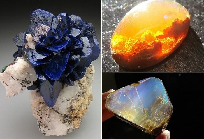 Самые потрясающие минералы.