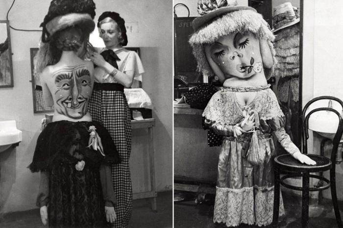 Оригинальный боди-арт 1930-х годов.