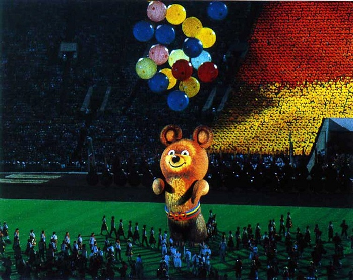 Церемония закрытия XXII Олимпийских игр.| Фото: ic.pics.livejournal.com.