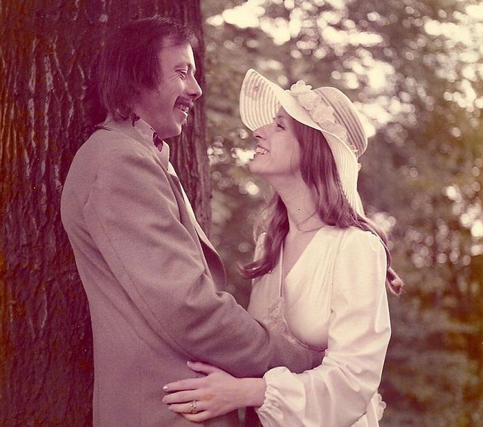Свадебное фото 1975 года.