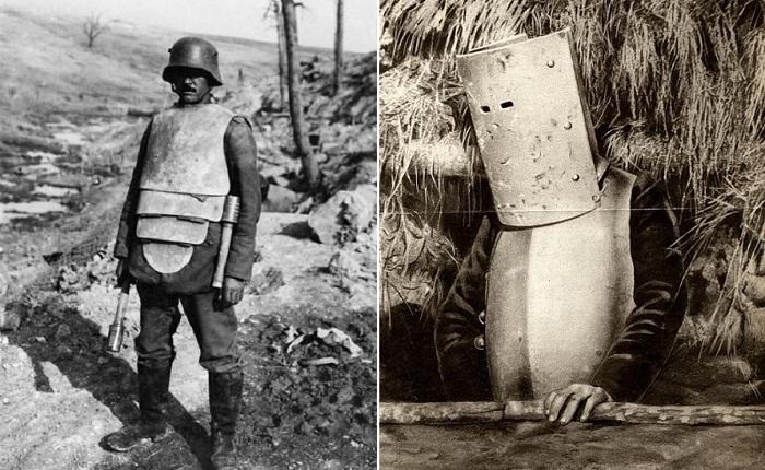 Бронекостюмы Первой мировой войны.
