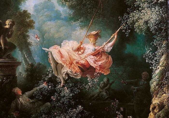 Качели. Жан-Оноре Фрагонар, 1767 год. | Фото: personalaroma.files.wordpress.com.