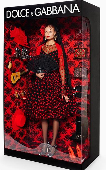 Барби от Dolce & Gabbana.