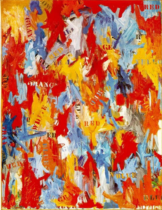 Фальстарт. Джаспер Джонс, 1959 год. | Фото: therichest.com.