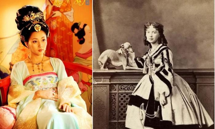 Чансань и куртизанка - «дамы полусвета».