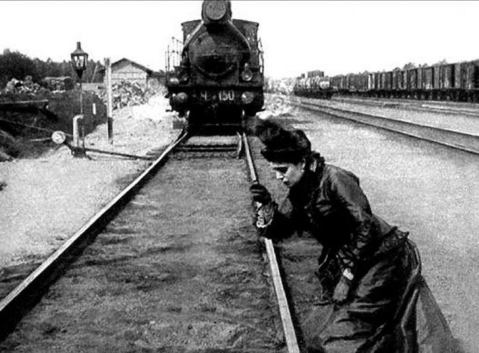 Кадр из к/ф «Анна Каренина» (1914). | Фото: smartwebsite.ru.