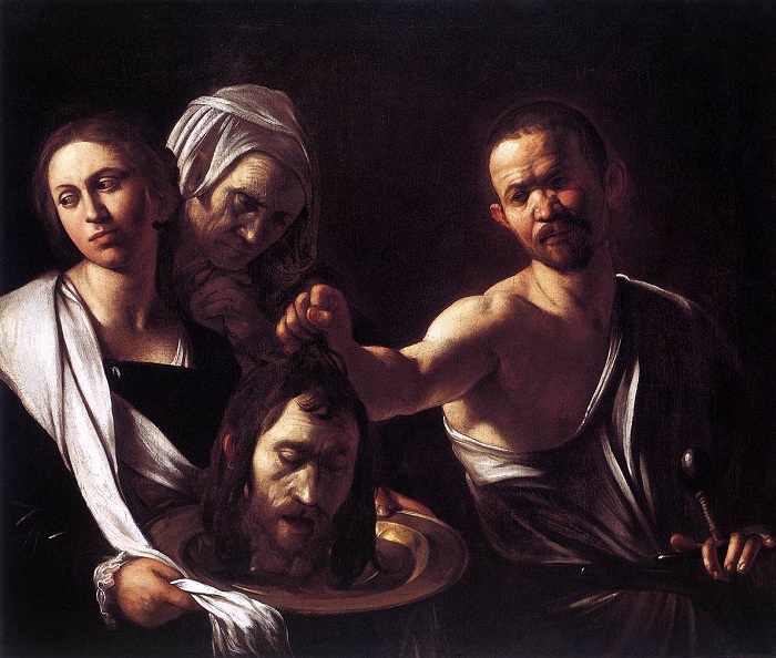 Саломея с головой Иоанна Крестителя. | Фото: ru.wikipedia.org.