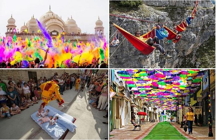 Самые удивительные и забавные фестивали мира.