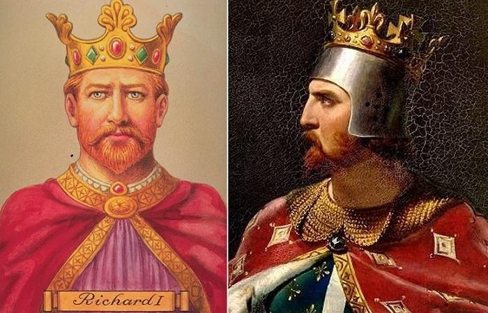 Английский король Ричард I Львиное Сердце.