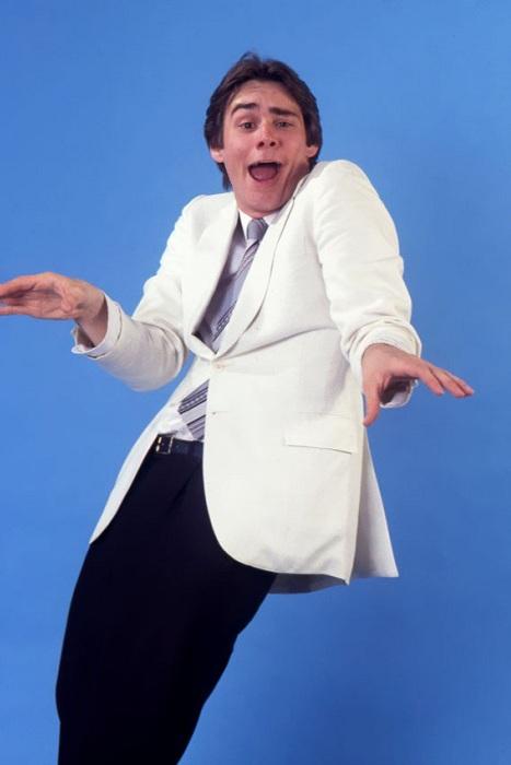 Джим Керри в образе Стива Мартина.