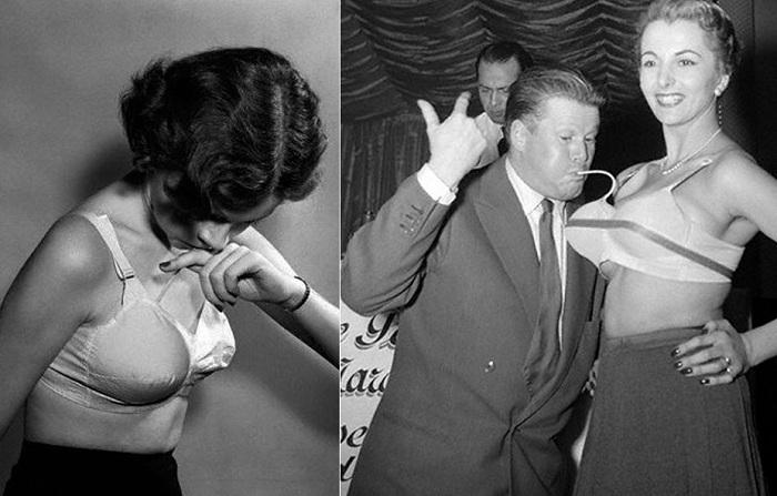 В 1950-х годах в моде были надувные бюстгальтеры.   Фото: mediaport.info.