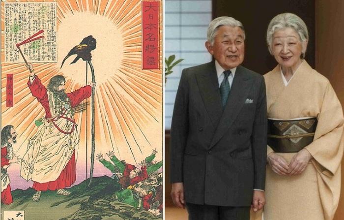1-ый и 125-ый императоры Японии.