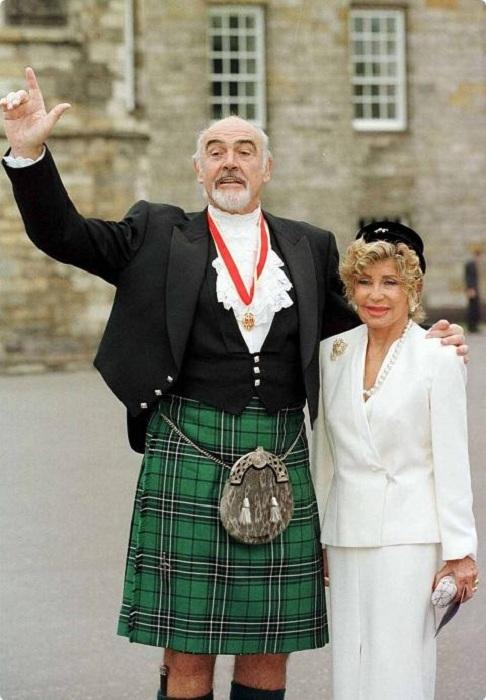 Шон Коннери - британский актер шотландского происхождения. | Фото: mens.amur.net.