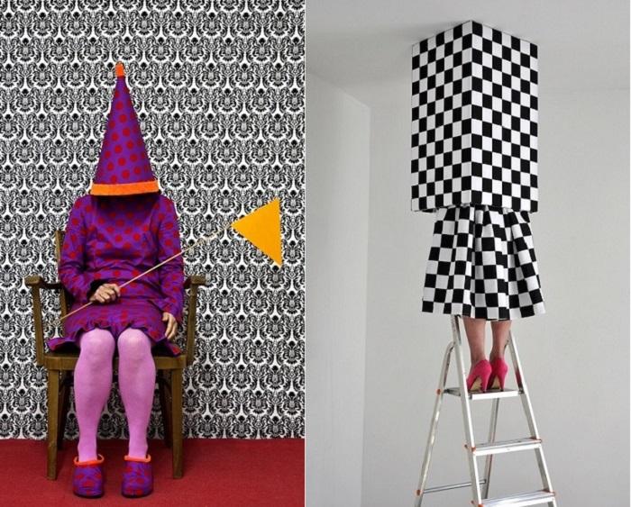 «Живые скульптуры» голландской художницы.