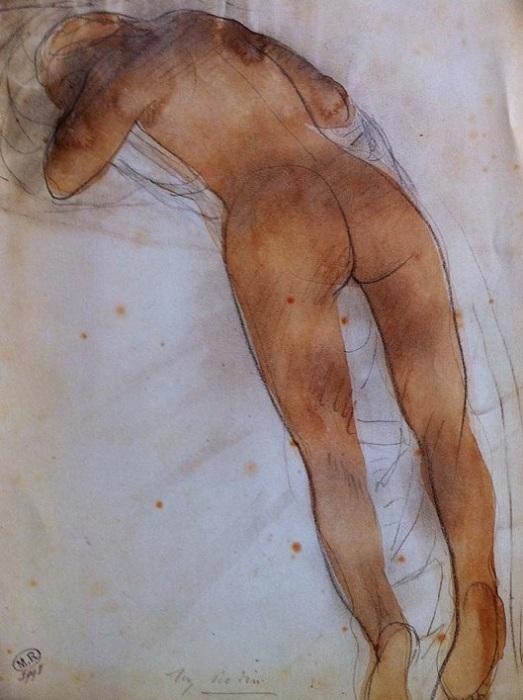 Ню. Рисунок Родена. | Фото: michelkoven.wordpress.com.
