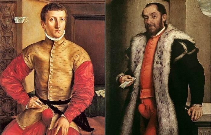 Гульфик - модная часть мужского гардероба XVI века.