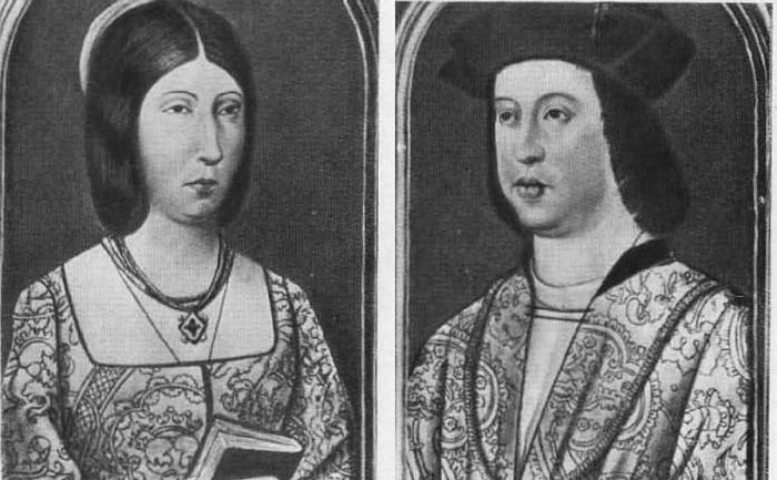 Фердинанд Арагонский и Изабелла Кастильская.   Фото: indiansworld.org.