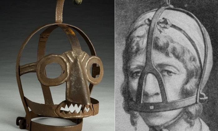 Ругательская уздечка - орудие пытки для сварливых женщин.